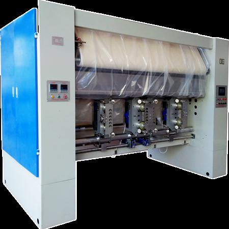 Calender (Vertical Calender, Textile Calendering Machine)